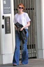 EMMA STONE Out and About in Los Angeles 08/01/2015