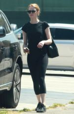 EMMA STONE Out and About in Los Angeles 08/28/2015