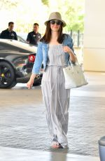 EMMY ROSSUM Sshopping for a New BMW in Beverly Hills