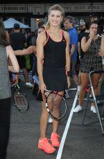 EUGENIE BOUCHARD at Nike