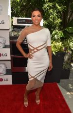 EVA LONGORIA at LG Electronics LG Fam to Table Series in Culver City