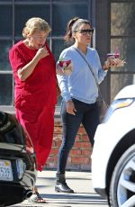 EVA LONGORIA Out and About in Studio City 08/24/2015