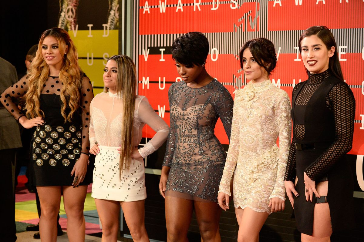 FIFTH HARMONY at MTV Video Music Awards 2015 in Los Angeles
