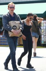 FKA TWIGS Shopping at Whole Foods in Studio City 08/22/2015