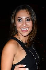 FRANCIA RAISA at Just Jared's Way To Wonderland Party in West Hollywood