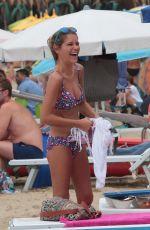 GEMMA OATEN in Bikini at a Beach in Italy 08/18/2015