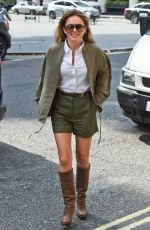 GERI HALLIWELL Arrives on the Set of a Photoshoot in London 08/21/2015