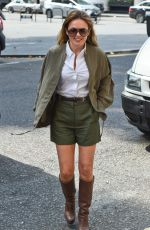 GERI HALLIWELL Out and About in London 08/21/2015
