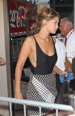 GIGI HADID Arrives at Taylor Swift Concert in Los Angeles 08/21/2015