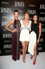 GIGI HADID at David Jones Spring/Summer 2015 Fashion Launch in Sydney