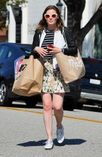 GILLIAN JACOBS Out Shopping in Beverly Hills 08/07/2015