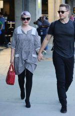 GINNIFER GOODWIN Arrives at Airport in Vancouver 08/04/2015