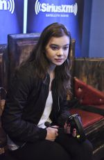 HAILEE STEINFELD at SiriusXM Morning Mash Up in Los Angeles 08/27/2015