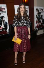 HAILEE STEINFELD at Ten Thousand Saints Premiere in Century City