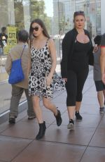 HAILEE STEINFELD Out and About in Hollywood 08/02/2015