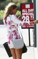 HAILEY BALDWIN Out and About in New York 08/23/2015