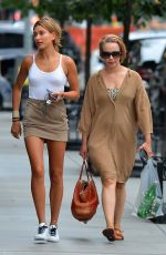 HAILEY BALDWIN Out and About in Tribeca 08/23/2015