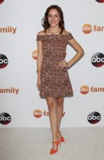 HALEY RAMM at Disney ABC 2015 Summer TCA Tour in Beverly Hills