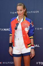 HANNAH DAVIS at Tommy Hilfiger and Rafael Nadal Launch Global Brand Ambassadorship in New York