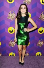 HAYLEY ORRANTIA at Just Jared's Way To Wonderland Party in West Hollywood