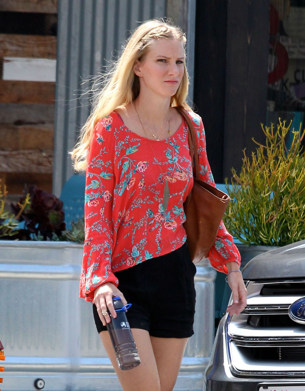 heather morris out and about in los angeles 08 20 2015