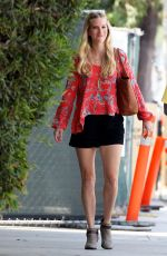 HEATHER MORRIS Out and About in Los Angeles 08/20/2015