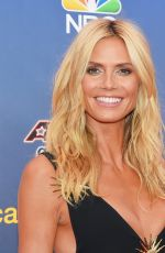 HEIDI KLUM at America Got Talent Season 10 Taping in New York