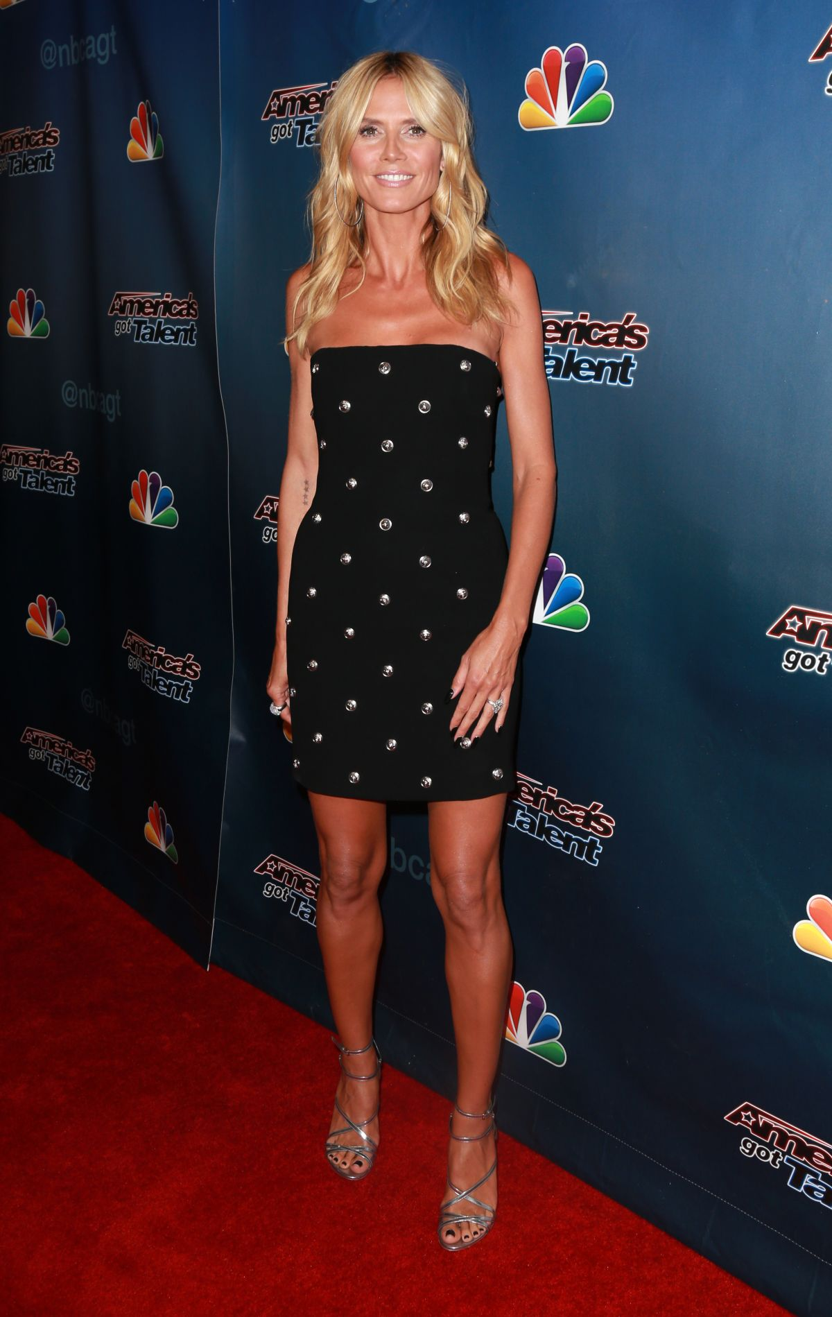 Heidi Klum At Americas Got Talent Post Show Red Carpet Event In Hollywood  Posted By Aleksandar August   No Comments Full