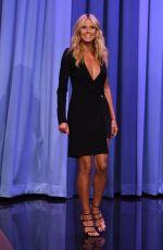 HEIDI KLUM at The Tonight Show Starring Jimmy Fallon in New York 08/19/2015