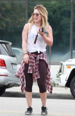 HILARY DIFF Out and About in Los Angeles 08/18/2015