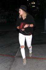 HILARY DUFF Arrives at Taylor Swift
