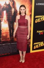 HOLLAND RODEN at American Ultra Premiere in Los Angeles
