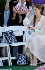 HOLLAND RODEN at Grace Rose Bauer Fashion how at CBS Studios in Studio City