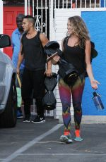 ALEXA VEGA Arrives at DWTS Studio in Hollywood 08/28/2015