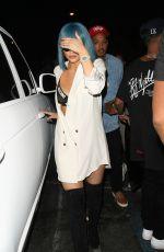 KYLIE JENNER Arrives at 1Oak in Los Angeles 08/28/2015