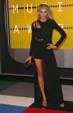 CHARLOTTE MCKINNEY at MTV Video Music Awards 2015 in Los Angeles