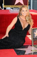 MARIAH CAREY Honored with a Star on the Hollywood Walk of Fame 08/05/2015