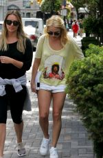 MARGOT ROBBIE Out and About in Toronto 08/08/2015