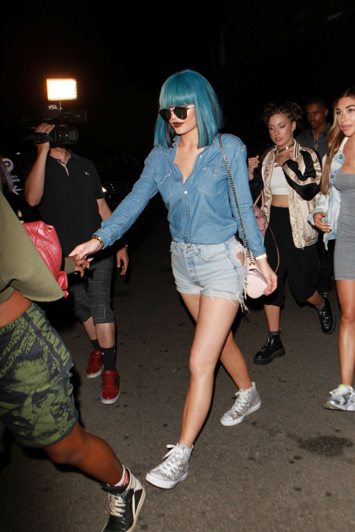 a3a76e8374f23a KYLIE JENNER Night Out in Hollywood 08/29/2015 - HawtCelebs