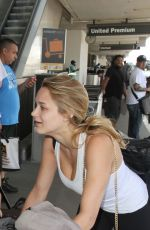 HUNTER HALEY KING at LAX Airport in Los Angeles 07/28/2015