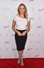HUNTER HALEY KING at Television Academy Cocktail Reception in Beverly Hills 08/26/2015