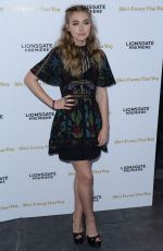 IMOGEN POOTS at She's Funny That Way Premiere in Los Angeles