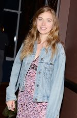 IMOGEN POOTS at The Diary of Teenage Girl After Party in New York