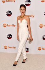 ITALIA RICCI at Disney ABC 2015 Summer TCA Tour in Beverly Hills