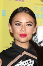 JANEL PARRISH at 2015 Teen Choice Awards in Los Angeles
