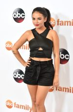 JANEL PARRISH at Disney ABC 2015 Summer TCA Tour in Beverly Hills