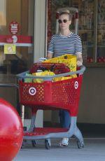 JANUARY JONES Leaves a Target in Sherman Oaks 08/11/2015