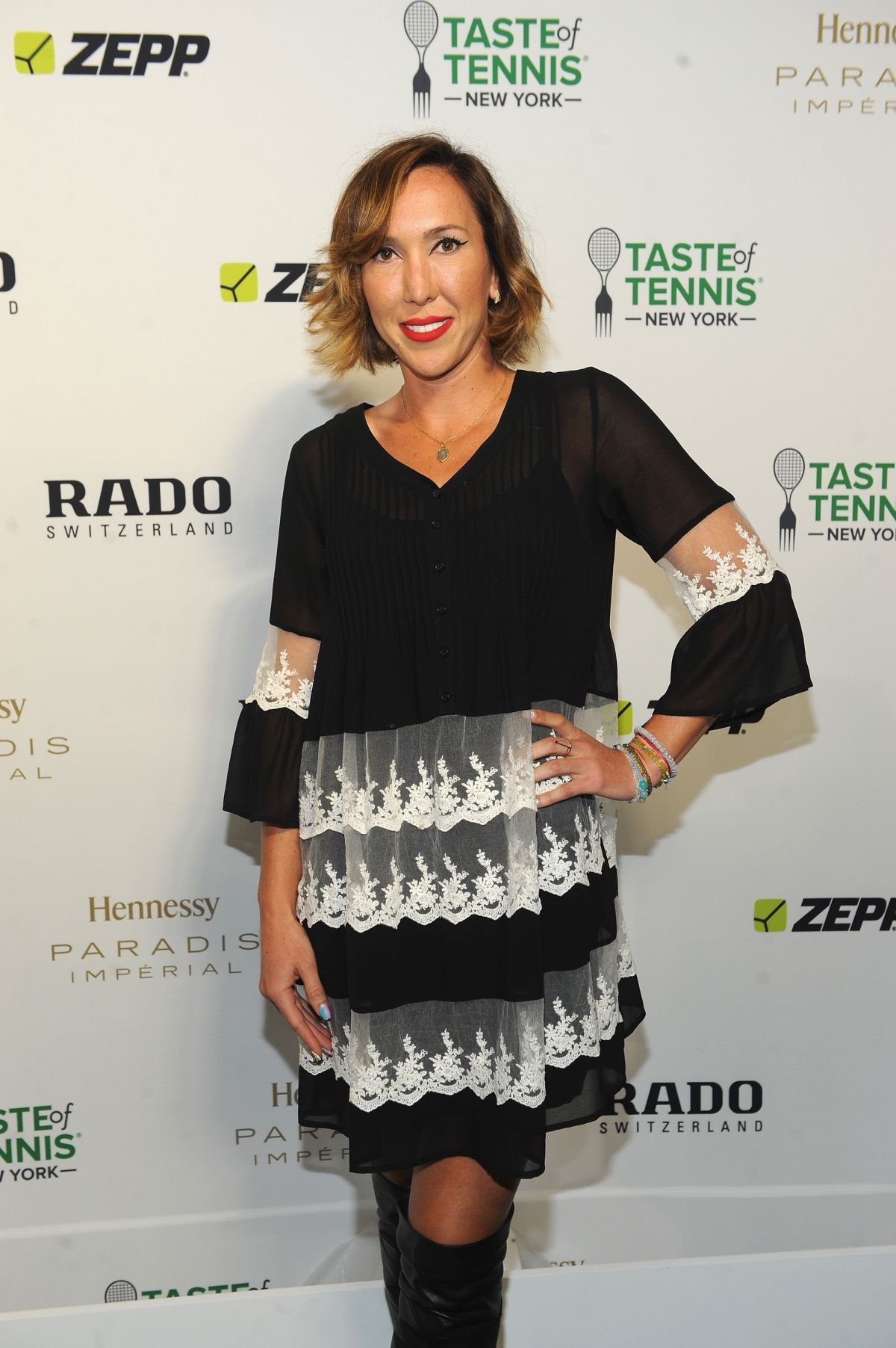 JELENA JANKOVIC at Taste of Tennis Gala in New York