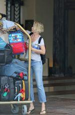 JENNA ELFMAN Leaves Her Hotel in Hawaii 08/27/2015