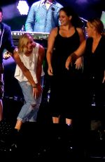 JENNIFER LAWRENCE and AMY SCHUMER at Billy Joel Concert in Chicago 08/27/2015